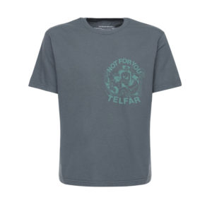 TELFAR Camiseta FW2020 - Off Black