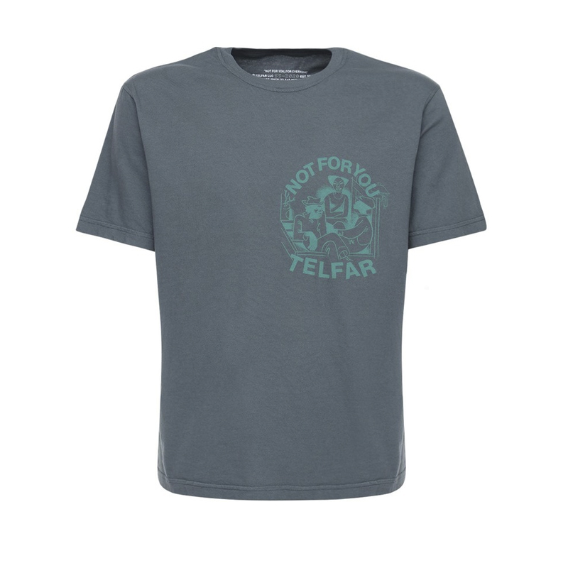 TELFAR FW2020 Tee - Off Black