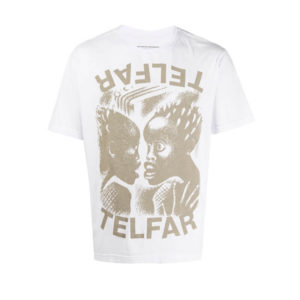 TELFAR Camiseta The Bomb - Off White