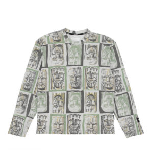 NAPA by MARTINE ROSE Camiseta LS S-Lokka - Green