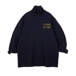 STAND ALONE Sudadera High Neck - Navy