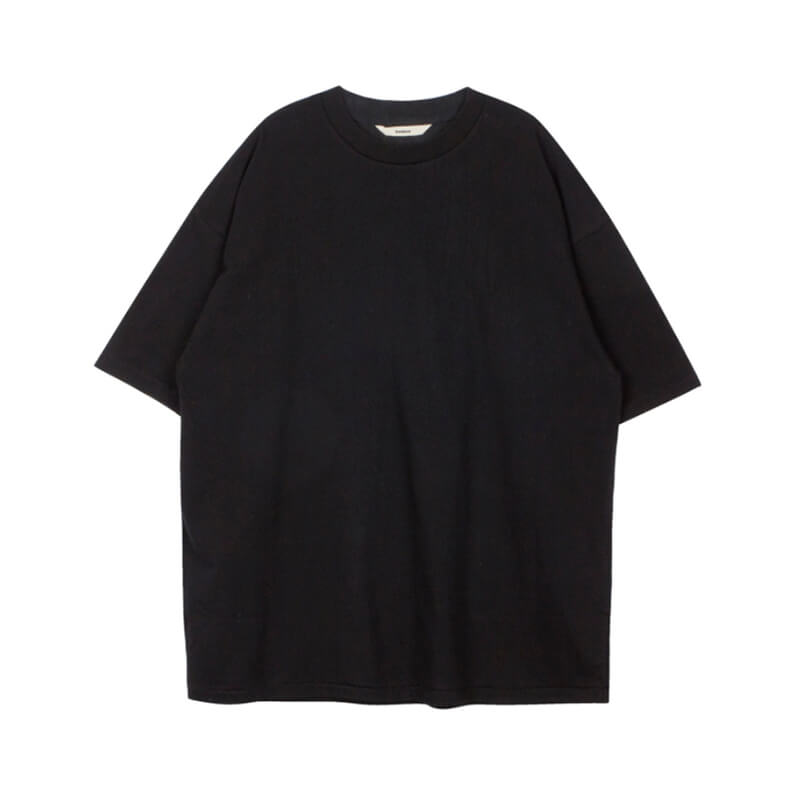 STAND ALONE Oversized Logo T-shirt – Black