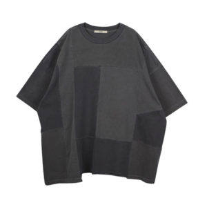 STAND ALONE Oversized Panel T-shirt – Dark Grey