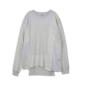STAND ALONE Pigment Dye Blocking LS Tee - Light Grey