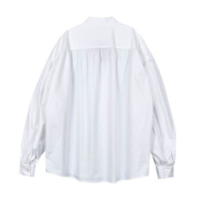 STAND ALONE Puff Sleeve Blouse – White