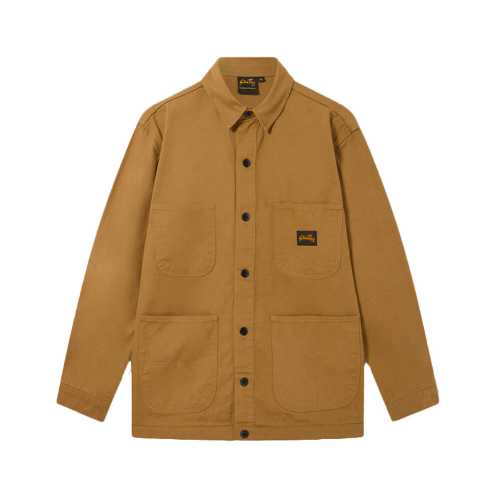 STAN RAY Barn Coat – Washed Duck Brown