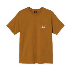 STÜSSY Camiseta Basic Stüssy - Caramel