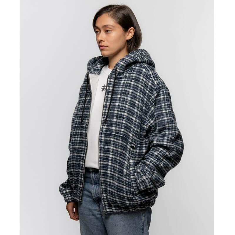 STÜSSY Flannel Work Jacket - Plaid