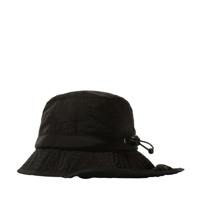 STUSSY Metallic Nylon Bungee Bucket – Black