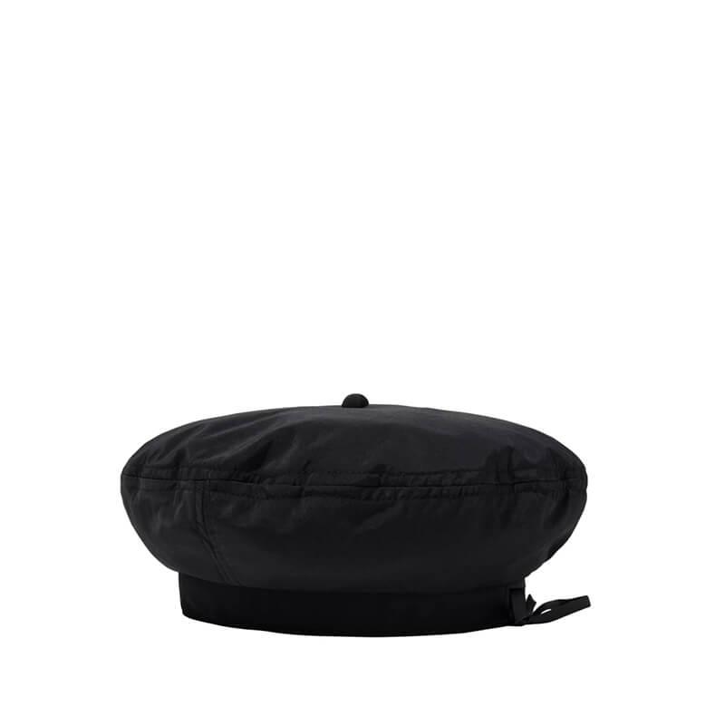 STUSSY Nylon Logo Beret – Black