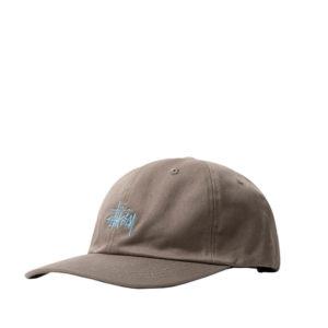 STUSSY Stock Low Pro Cap – Khaki