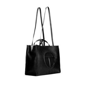 TELFAR Large Shopping Bag - Black