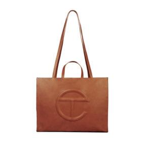 TELFAR Large Shopping Bag - Tan