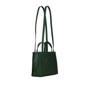 TELFAR Medium Shopping Bag - Dark Olive
