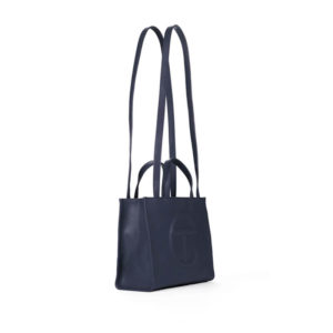 TELFAR Medium Shopping Bag - Navy