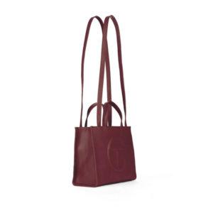 TELFAR Medium Shopping Bag - Oxblood
