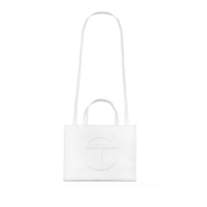 TELFAR Medium Shopping Bag - White