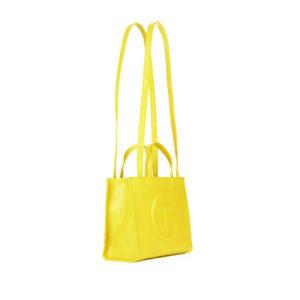 TELFAR Medium Shopping Bag - Yellow