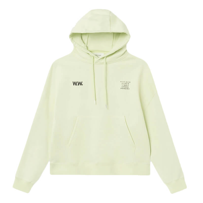 WOOD WOOD Mary Hoodie – Light Green