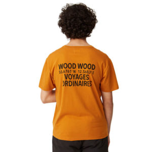 WOOD WOOD Camiseta Voyages - Orange