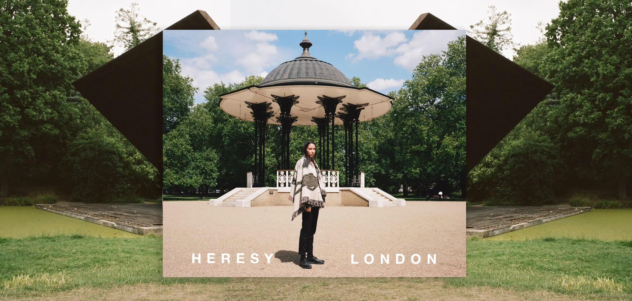 HERESY LONDON BANNER FW2020