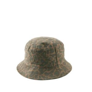 MAHARISHI Camo Bucket Hat – Olive