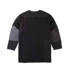 MAHARISHI Collarless Shirt – Black