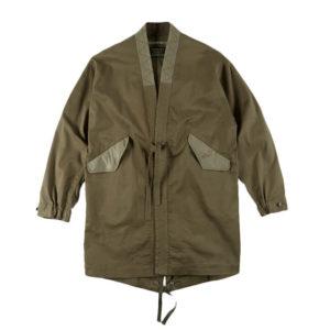 MAHARISHI M51 Fishtail Shell Kimono – Olive