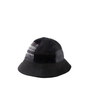 MAHARISHI Bucket Patchwork Hat - Black