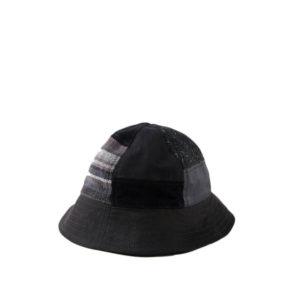 MAHARISHIBucket Patchwork Hat - Black