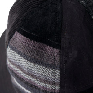 MAHARISHI Patchwork B Hat - Black