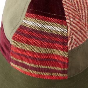 MAHARISHI Patchwork B Hat - Olive