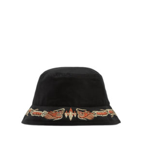 MAHARISHI Bucket Souvenir Hat - Black