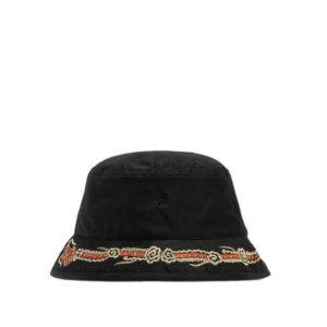 MAHARISHI Souvenir Bucket Hat – Black