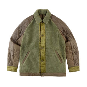 MAHARISHI Upcycled Grizzly Jacket – Olive