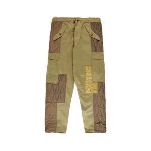 MAHARISHI Upcycled Triquilted Cargo Pants – Olive