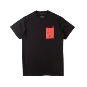 MAHARISHI Camiseta World Corps - Black