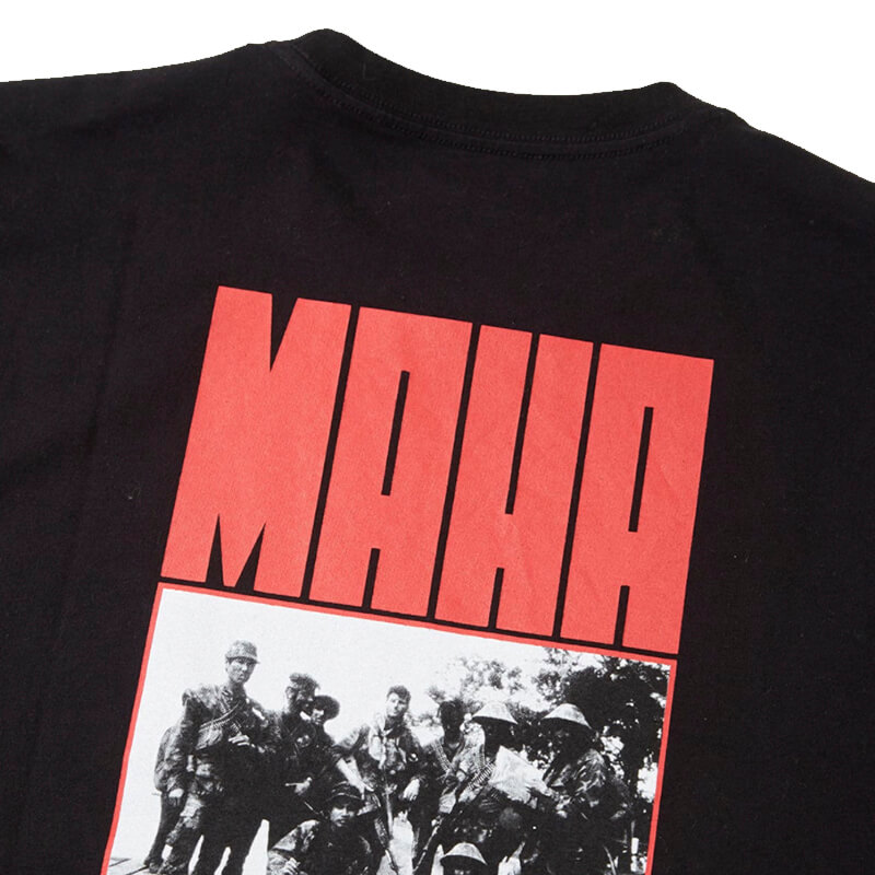 MAHARISHI World Corps T-shirt – Black