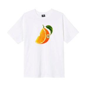 STÜSSY Camiseta Orange Slice - White
