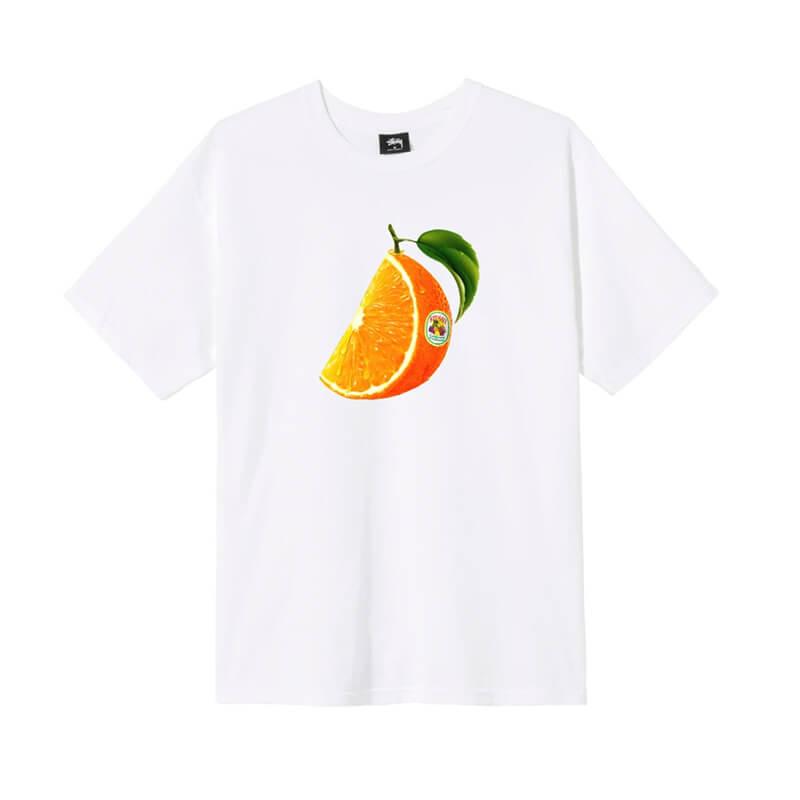 STÜSSY Orange Slice Tee - White