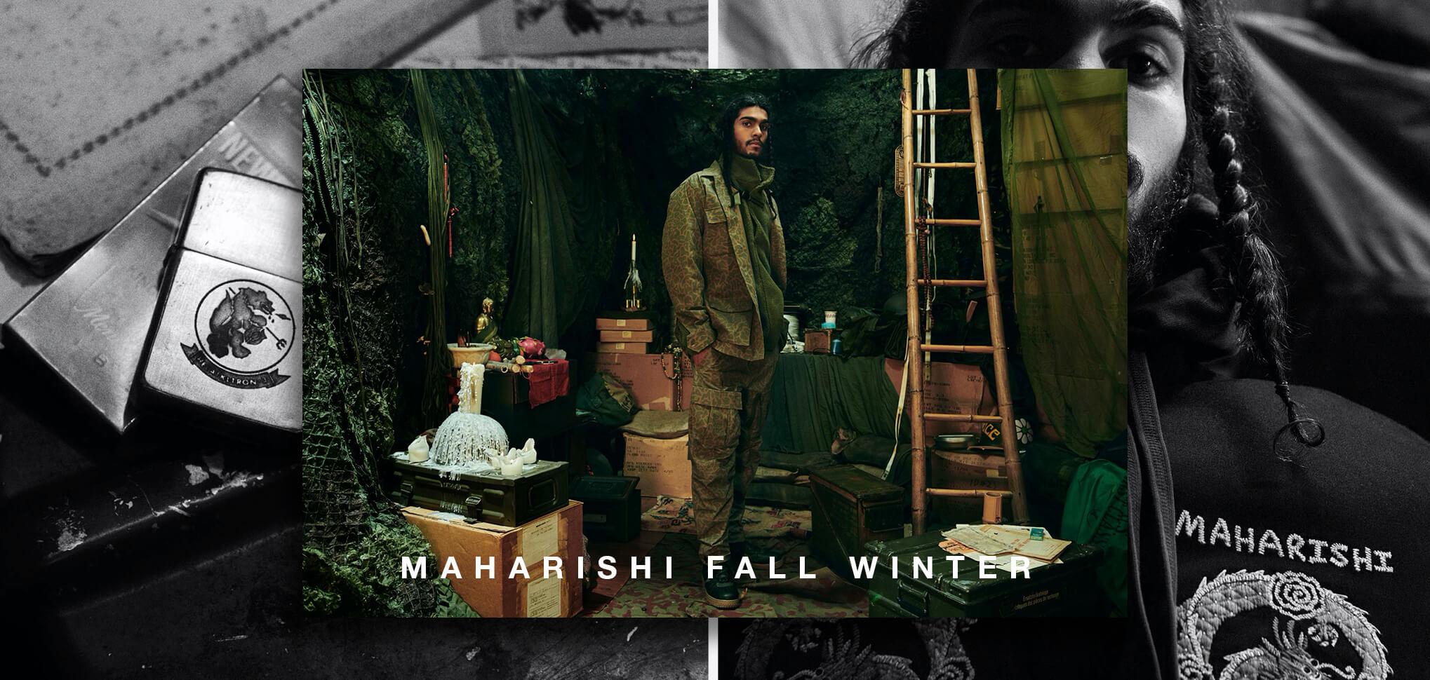MAHARISHI FW BANNER