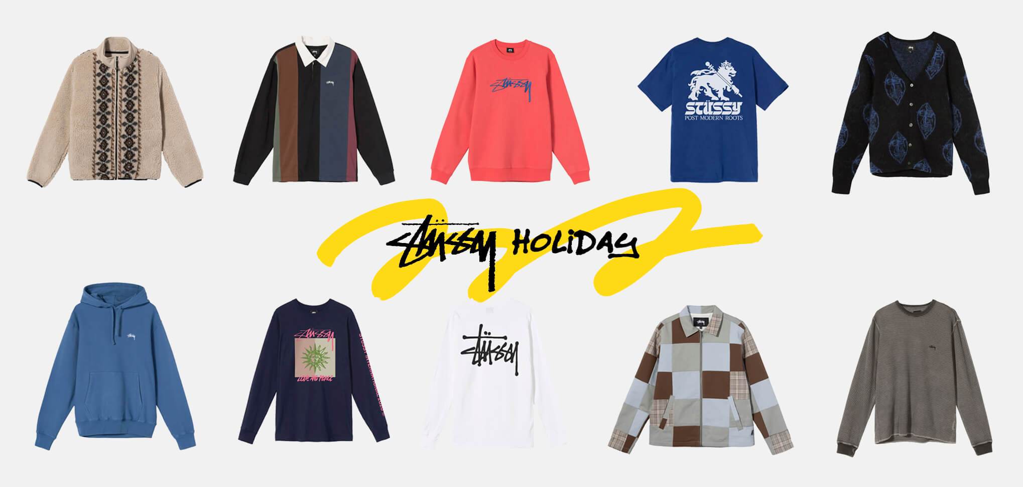 STUSSY HOLIDAY BANNER