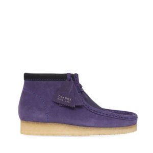CLARKS ORIGINALS Botas Wallabee - Purple Interest