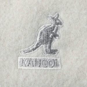 KANGOL Gorra Wool 504 Flat - White