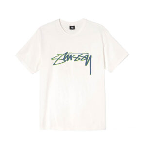 STUSSY Smooth Stock Tee – Natural