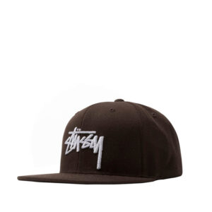 STUSSY Gorra Stock - Brown