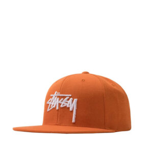 STUSSY Stock Cap - Orange