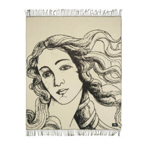 STUSSY Venus Jacquard Blanket – Natural
