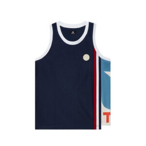 TELFAR x CONVERSE Basketball Jersey – Black Iris