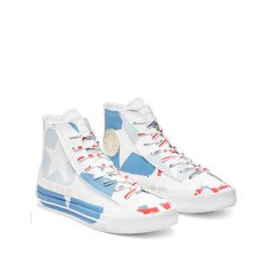 TELFAR x CONVERSE Chuck 70 Hi Sneakers – White